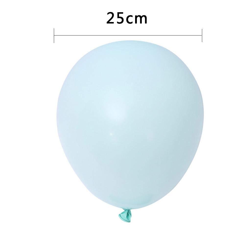 Ballons De Latex Assortis De Couleurs Vives Easy-topbuy Ballon De Latex Ballons Confettis F/ête danniversaire Anniversaire De Mariage C/él/ébrations D/écorations 100pcs
