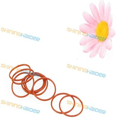Gimax 50PCS Wire Diameter 3.5mm Outer Diameter OD44 45 46 47 48 49 50 51 52 53 54mm red Color Silicone O Ring Silicon O Sealing Ring Color: Outer Diameter 44mm
