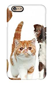 New Style ZippyDoritEduard Hard Case Cover For Iphone 6- Cats And Dogs