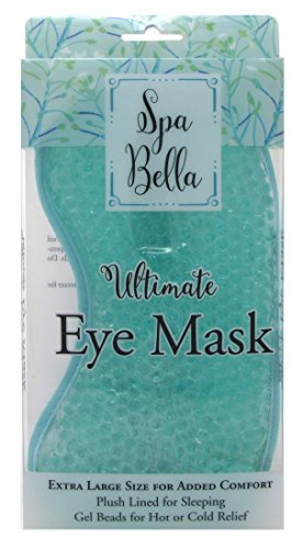 Spa Bella Ultimate Eye Mask Blue (Extra Large) (2 Pack)