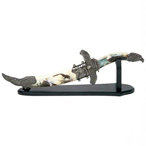 Maxam SKEAGLED 12 Blade Decor Eagle Knife - Style Skeagled