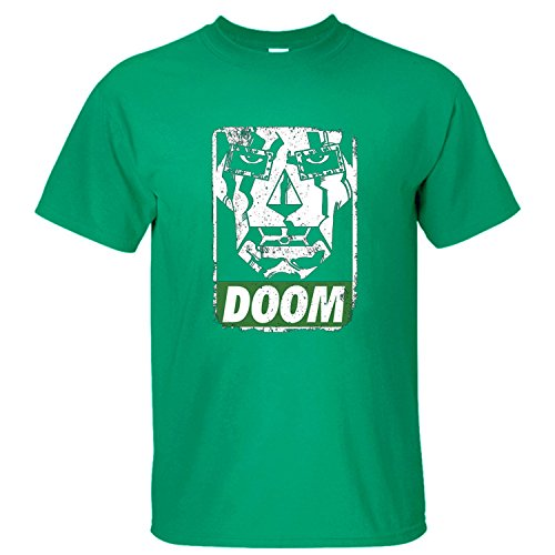 Doctor+Doom+shirts Products : WASH Fantastic 4 Dr. Doom Mask Men T Shirt Short Sleeves green XL