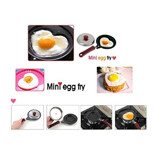 Unpre(TM) Fashion Egg Frying Pancakes Kitchen Pan with Stick Housewares Mini Pot DIY ping by Unpre (Image #5)