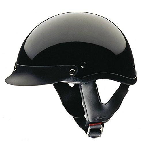 Hci Half Helmet (HCI-100 Black Half Helmet XL)