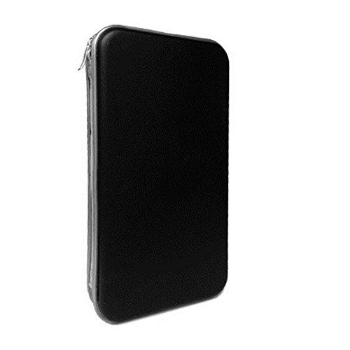 Yamde 80 Capacity Classic CD/DVD case Wallet, storage,holder,booklet,cases (Dvd Binder 200)