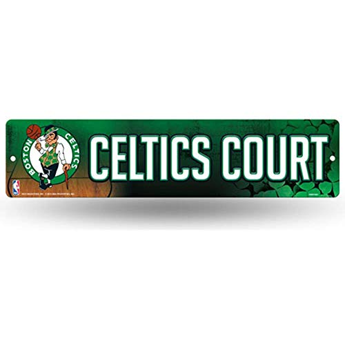 - NBA Boston Celtics 16-Inch Plastic Street Sign Décor