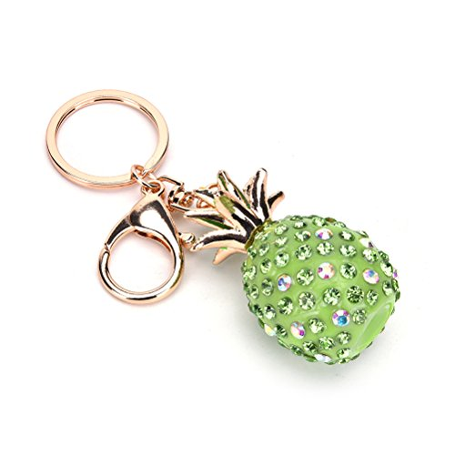 CosCosX 1 pc Handbag Keyring Rhinestone Charm Pendant Keychain Key Chain Bag Gift Car Pendant