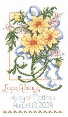 Summer Wedding Cross Stitch Chart