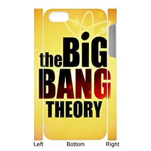 Custombox the Big Bang Theory Iphone 5 Case Plastic Hard Phone Case For Ipone 5-IPhone 5-DF00520