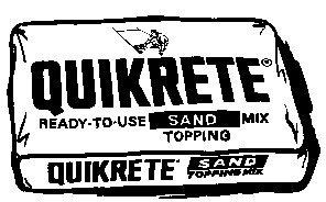 Quikrete Concrete Bags - 2