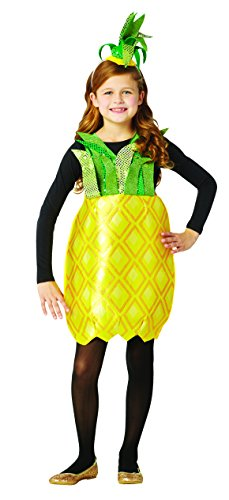 Rasta Imposta Pineapple Child Dress Costume, Child 7-10]()