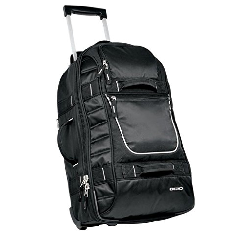OGIO – Pull-Through Rolling Suitcase in Black – One Size