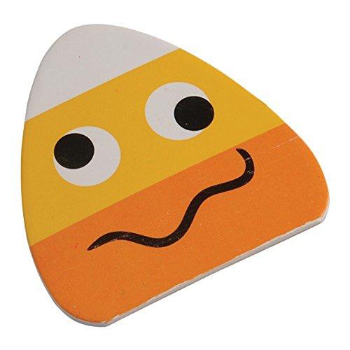 Dozen Candy Corn Goofy Face Mini Memo Notepads