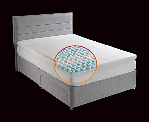 octaspring body zone mattress topper memory foam topper. Black Bedroom Furniture Sets. Home Design Ideas