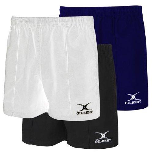 (Black Medium Pro Rugby Shorts)
