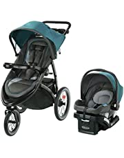 Graco Fast Action Fold Click Connect Jogger Travel System with Snug Ride 35 Piazza