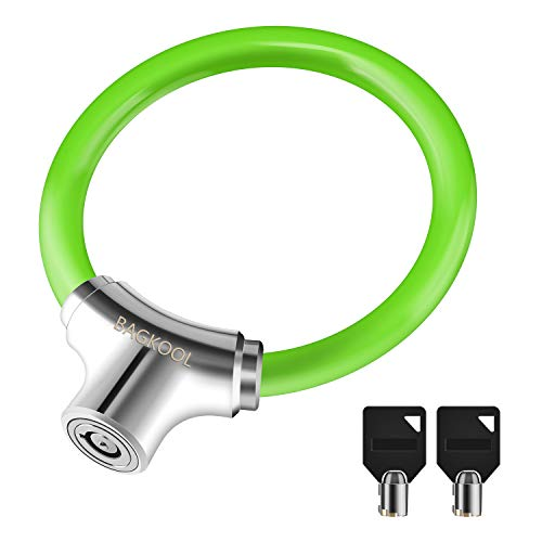 Bike Lock,12mm Heavy Duty Portable Bicycle Disc Lock, Cycling Locks Anti-Theft High Security for...