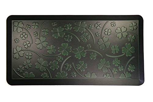 AMCOMFY Kitchen Anti Fatigue Mat,Comfort Floor Mats,Standing Desk Mats,Antique Series (20''x39''x3/4'', Clover Green) by Amcomfy
