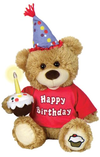 Chantilly Lane CupCake Birthday Bear Sings