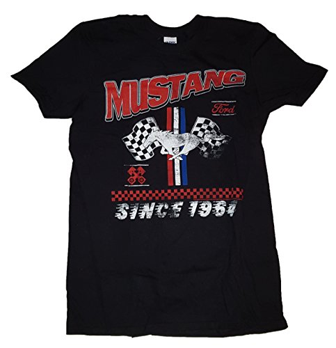 (Ford Mustang Since 1964 Graphic T-Shirt - Medium)