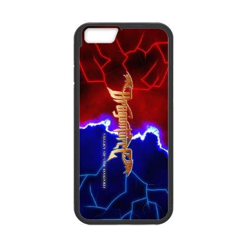 Dragonforce 007 coque iPhone 6 4.7 Inch Housse téléphone Noir de couverture de cas coque EOKXLLNCD19126