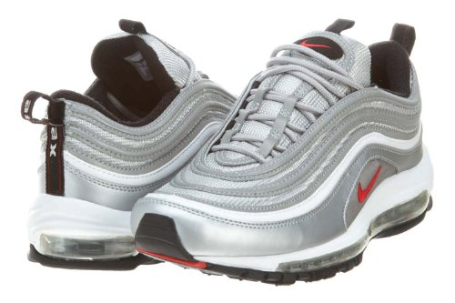 Amazon.com | Nike Air Max 97 Og Metallic Silver (312641-069) Orginal (10  D(M) US) | Track & Field & Cross Country