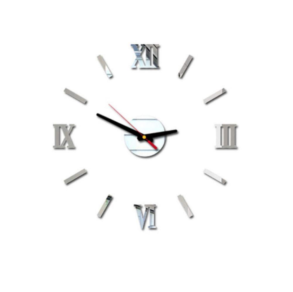 Chuixiaoxiao1 por Encargo Nuevo Reloj de Pared 3D DIY Números ...
