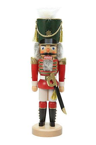 German Christmas Nutcracker Guardsoldier - 44 cm / 17 inch - Christian Ulbricht by Ulbricht