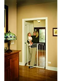 Regalo Easy Step Extra Tall Walk Thru Gate, White BOBEBE Online Baby Store From New York to Miami and Los Angeles