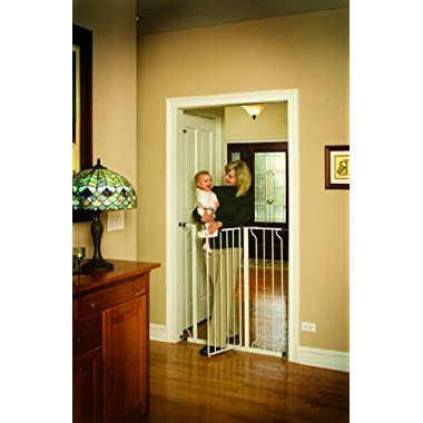 Regalo Easy Step Extra Tall Walk Thru Gate, White