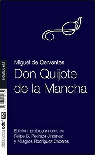Don Quijote Spanish Edition Miguel De Cervantes