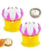 2/3Pcs Baozi Maker,Steamed Stuffed Bun Making Mold,DIY Ravioli Pastry Pie Steamed Stuffed Bun Dumpling Maker Mold Tools