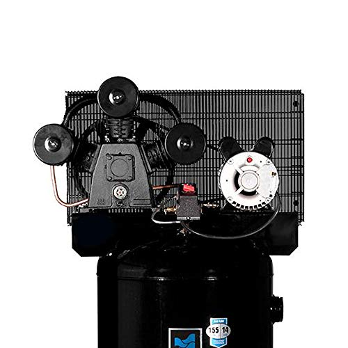 Industrial Air ILA4546065 60-Gallon Hi-Flo Single Stage Cast Iron Three Cylinder Air Compressor (Best Stationary Air Compressor)