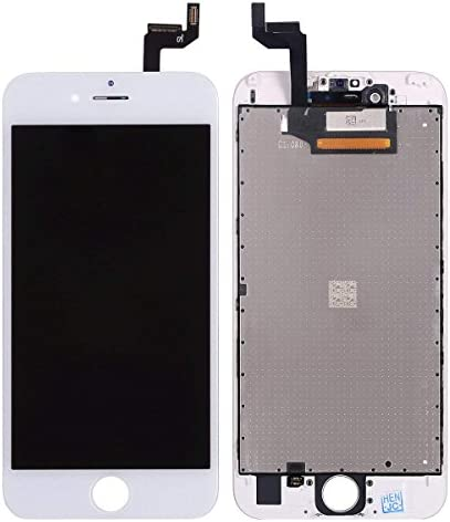 for iPhone 6S Screen Replacement White 4.7 Inch, LCD Display with three-D Touch Screen Digitizer Assembly Include Full Set Repair Tools