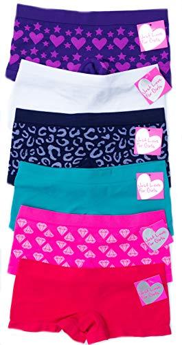Just Love GP-6P-37006-L Panties for Girls/Girls Panties (Pack of 6)