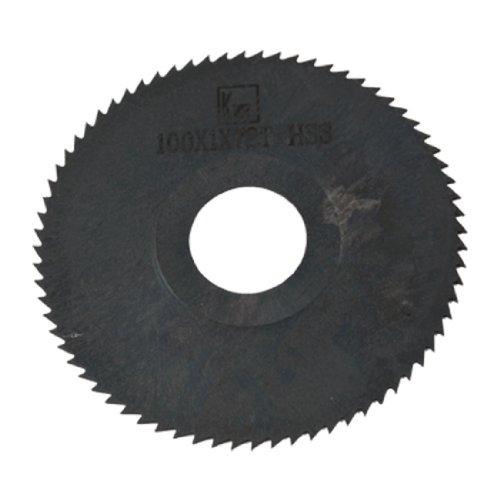 Amico Hand Tool Cutting Blade 100mm Diameter 1mm Thick HSS Slitting Saw 72 Teeth