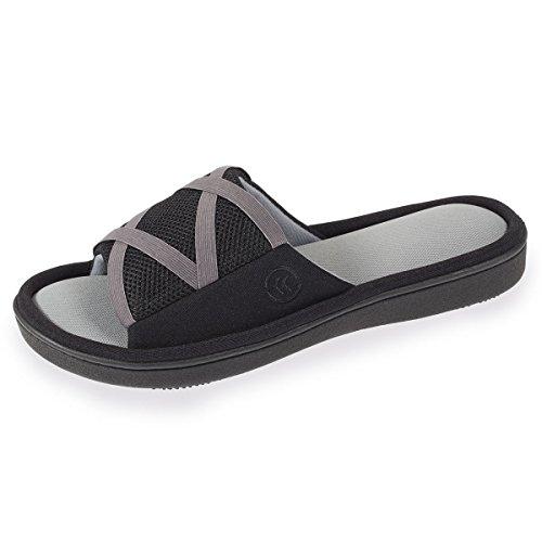 Zapatillas Sandalia Mujer Isotoner Negro