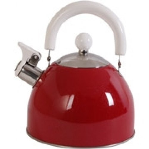 Mr. Coffee Colorcraze 1.5 qt. Tea Kettle Red