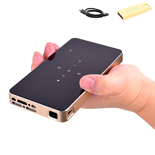 Mobile DLP Projector Mini Pico Pocket Video...