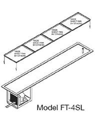 Wells FT-2SL Slim Line Frost Top