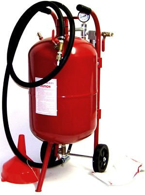 (USA Warehouse) PORTABLE AIR SANDBLASTER 10 GALLON SAND BLASTER TOOLS -/PT# HF983-1754415691