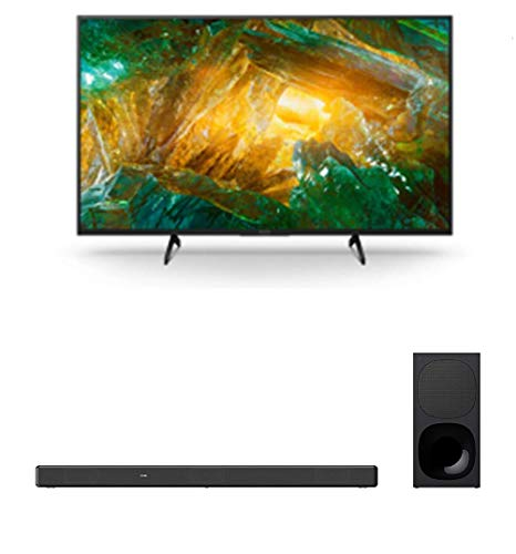 Sony XBR-65X800H 65″ 4K UHD HDR Motion Flow LED Smart Android TV with a Sony HT-G700 3.1 Channel Bluetooth Soundbar and Wireless Subwoofer (2020)