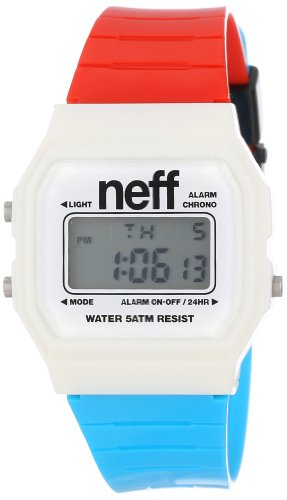 Neff Men's NF0204 Old Digital Display