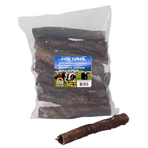 Great Dog Beef Trachea, 10-12 Inch, 10 Count Bag