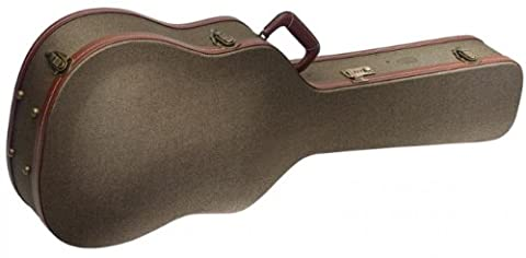 Stagg GCX-WBZ Bronze Tweed Deluxe Western/Dreadnought Guitar Case (Classical Guitar Case Tweed)