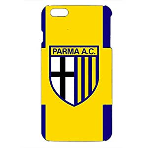 Parma Football Club spa Logo Phone Case for Iphone 6 plus 3D Hard Black Plastic Cover