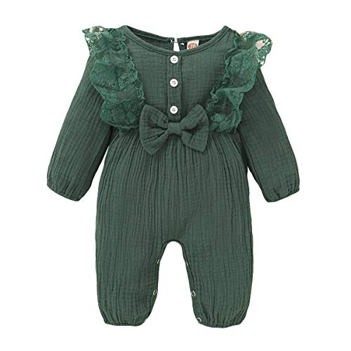 Baby Girl Clothes Lace Romper Casual Jumpsuit Long