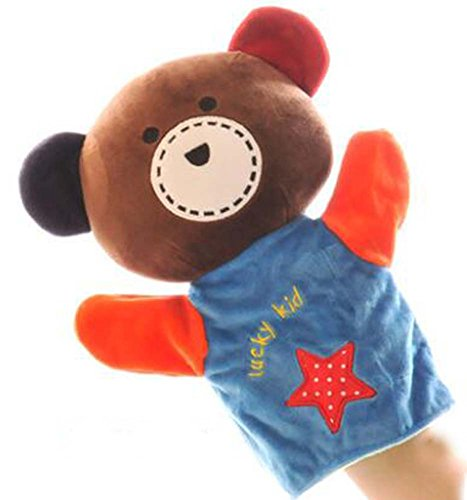 Easy To Operate Hand Puppet/Bear Pattern Children Performing Props