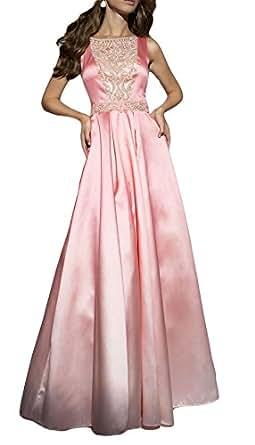 Loveyc Women Evening Gowns Sheer Backless Long Formal Dress