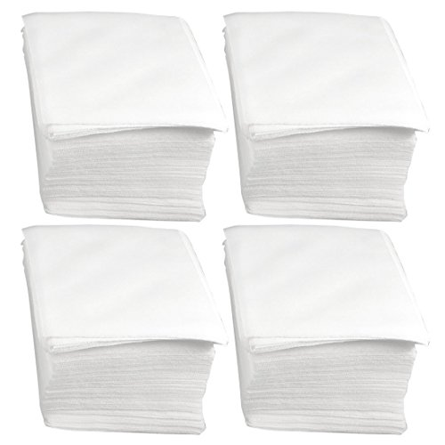 Cleanroom Wipes - Sanbo White Soft Clean Room Wiper LCD PCB Cleaning Dustless Wipes (4x4-300Pcs)